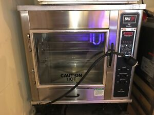 Bki Fs Commercial Rotisserie 208 230volts Single Phase 6 To 15 Bird Counter Top
