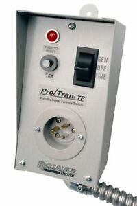 Reliance Controls Corporation Tf151w Easy tran Transfer Switch For Generators