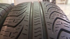 Two 2 Used P195 65r15 88 T 7 32nds Pirelli P4 Four Seasons Plus
