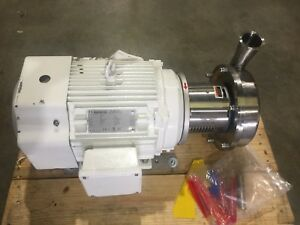 New Alfa Laval Tri clover Pump With 15 Hp Sterling Motor