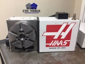 Haas Hrt 160 Brush 17 Pin Rotary Table Indexer 4th Axis 6000 With Control Box