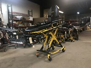 Stryker Power Pro Xt Ambulance Stretcher 7 Hrs Cot Power Load Knee Gatch 3602