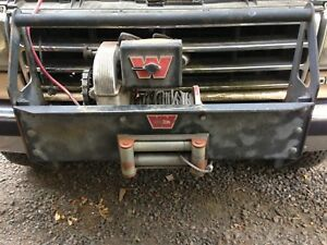 Warn Model 8274 12 Volt Truck Winch