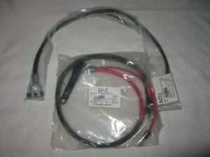 New Mopar Reproduction 1970 74 Battery Cables