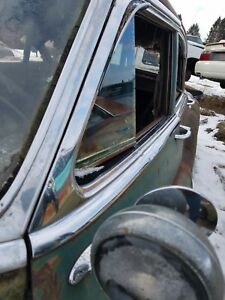 1950 Buick Super 4dr Lh Left Drivers Door Upper Chrome Trim Molding