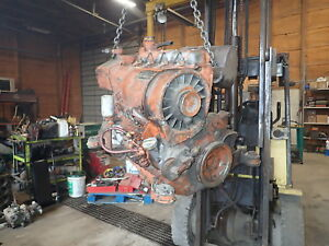 Deutz F4l914 Diesel Engine Runs Exc Video F4l 912 Tractor Pump Roller