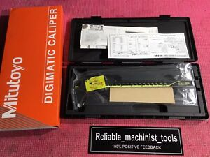 new Mitutoyo Japan Made 8 Inch Absolute Digital Caliper machinist Tool