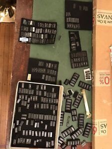 Lot Of Over 300 Nos Ic Integrated Circuit Chips Rca And Others