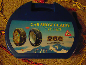 Kn 120 Snow Tire Chains Winter 225 70 15 215 65 16 235 60 16 245 45 17 245 45 18