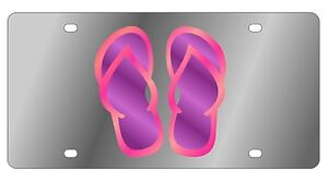 New Flip Flop Novelty License Plate
