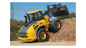 Volvo L50g Compact Wheel Loader Service Shop Repair Manual