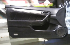 2003 2004 2005 Honda Accord Ex Coupe Driver Side Door Panel Graphite Black Oem