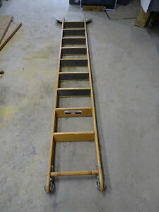 Putnam Rolling Library Ladder 9 Long