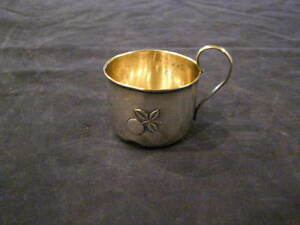 Sterling Silver Baby Cup From 1935