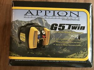 Appion G5 Twin Refrigerant Recovery Machine New Hvac Tools