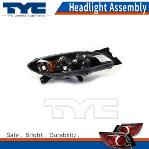 Tyc Headlight Headlamps Assembly Right passenger Side 1pc For Mazda 3 2007 2009