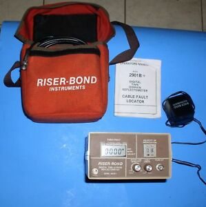 Riser bond Model 2901b Cable Fault Locator