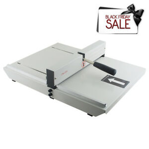 New Manual Paper Creaser Creasing Machine 350mm A4 Card Covers High Gloss Cover