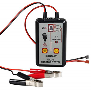 All Sun Em276 Injector Tester For 12v Vehicle Battery Analyser 4 Pluse Modes