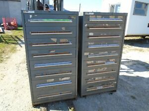 Stanley Vidmar Cabinet 8 And 9 Drawer 30 x 28 59 Tall