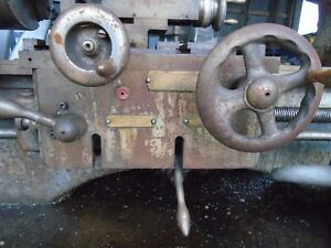 Clausing Colchester Student Lathe 6 Inch 12 Inch Apron Gearbox
