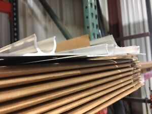 25 4 Extruded Aluminum Heat Transfer Plates For 1 2 Pex Tubing