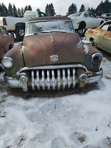 1950 Buick Super Special Roadmaster Front Grille Bar Teeth Complete Rat Rod