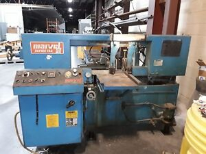 Marvel 13a4 Automatic Horizontal Band Saw 13 x13 Cap 1989 Under Power Video