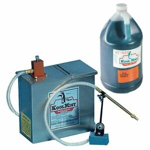 Kool Mist 100n 77 1 Gallon Single Mist Unit W 1 Gallon 77 Coolant