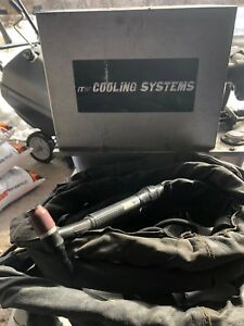 Tig Water Cooler Cooling Systems W 20ft Tig Torch Stubby Gas Lense