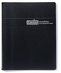 House Of Doolittle 2019 2020 Two Year Calendar Planner Monthly Black Cover 8