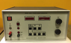 Solar Electronics 8850 1 30 Hz To 10 Khz High Power Sweep Generator For Parts