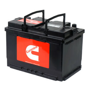 Ups Shippable Cummins Oem Battery Group Size 48 Agm High Performance Car Battery