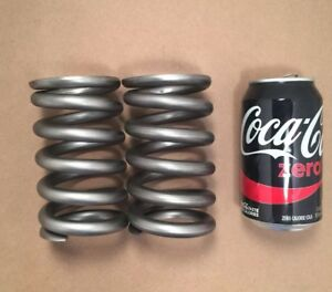 468 Wire Heavy Duty Compression Spring Lot Of 2