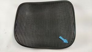 Herman Miller Aeron Chair Seat Mesh Black Pellicle W Blemish Size C Large 61