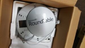 Microsoft Roundtable Rtb001 Camera Video Conference System 360 View Round Table