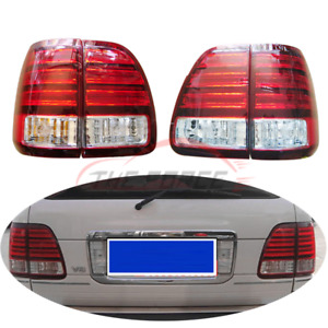 4pcs Rl Lh Original Led Tail Lights Rear Lamps Replace For Lexus Lx470 1998 2002