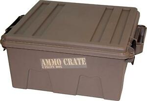 Ammo Crate Utility Box 7.25-in 85-LB Stackable Storage+Points for ATV Attachment