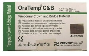 Ora Temp C b 67g Prevest Denpro Temporary Crown And Bridge Material Dental