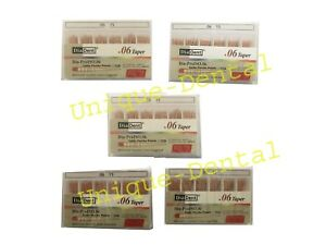 5 X Diadent Gutta Percha Gp Points 6 Size 45 Iso Color Coded Box Of 60