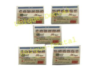 5 X Diadent Gutta Percha Gp Points 6 Size 30 Iso Color Coded Box Of 60