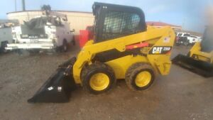 2015 Caterpillar 236d Cab A c Skid Steer Loader 74hp 158hrs 2speed Used