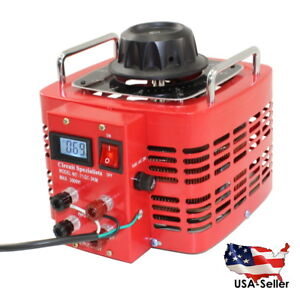 Bench Top 30 Amp Variable Auto transformer With Lcd Digital Display Tdgc2 3d