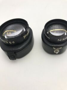 Nikon 20 14 Dptr Optometry Ophthalmoscope Aspherical Indirect Lenses Rare