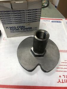 Oem Wisconsin U222a Sheave Rope Starter Assembly