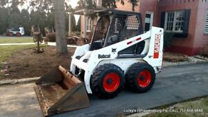 Bobcat 853 Skid Steer Loader Diesel 58hp 4765hrs Just Serviced Plow Your Snow A