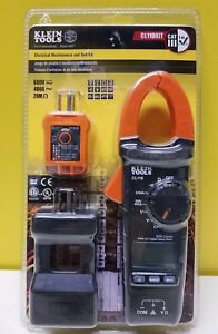 Klein Tools Cl110kit Electrical Maintenance And Test Kit New Sealed Packaging