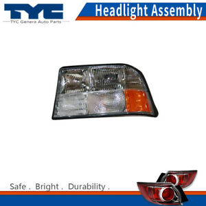 Tyc Headlight Headlamps Assembly Left driver Side 1pc For Gmc Jimmy 1998 2001