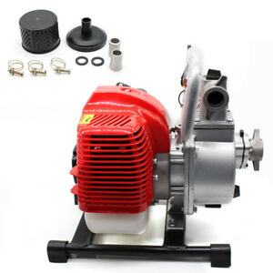 Petrol Water Transfer Pump Powerful 43cc 1 7hp Engine High Pressure Irrigation
