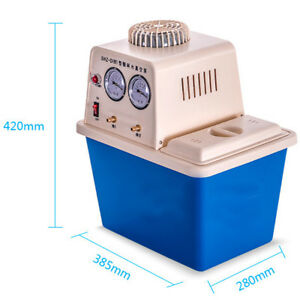 220v 180w circulating Water Vacuum Pump two Off gas Tap lab Chemistry Equipment